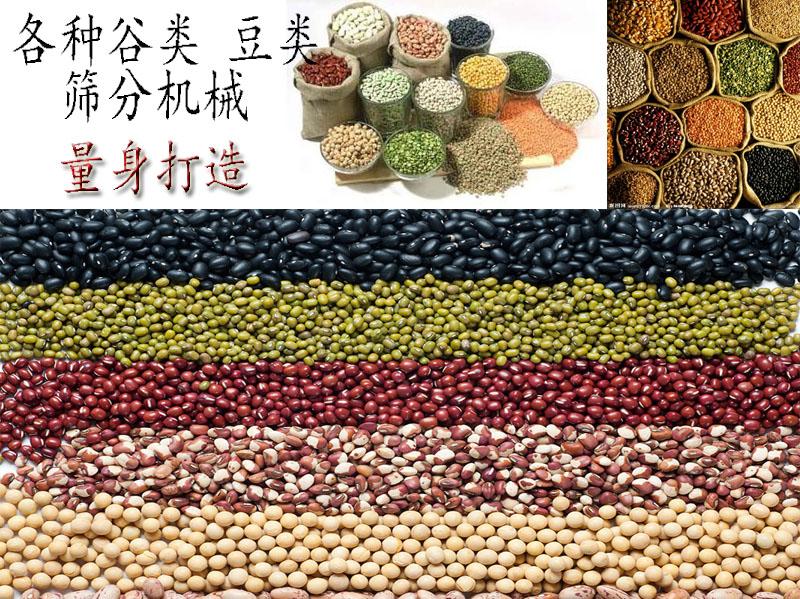 谷类豆类小型筛分机械